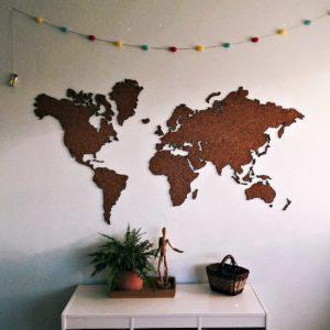 Карта на стену